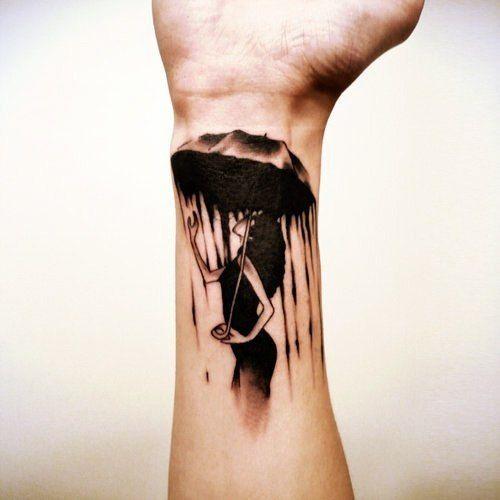 Татуировки фото на запястье у мужчины