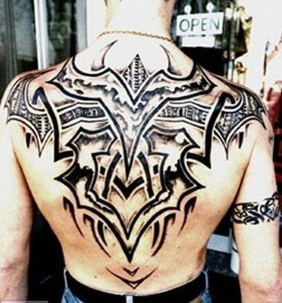 Картинки татуировки для мужчин на спине