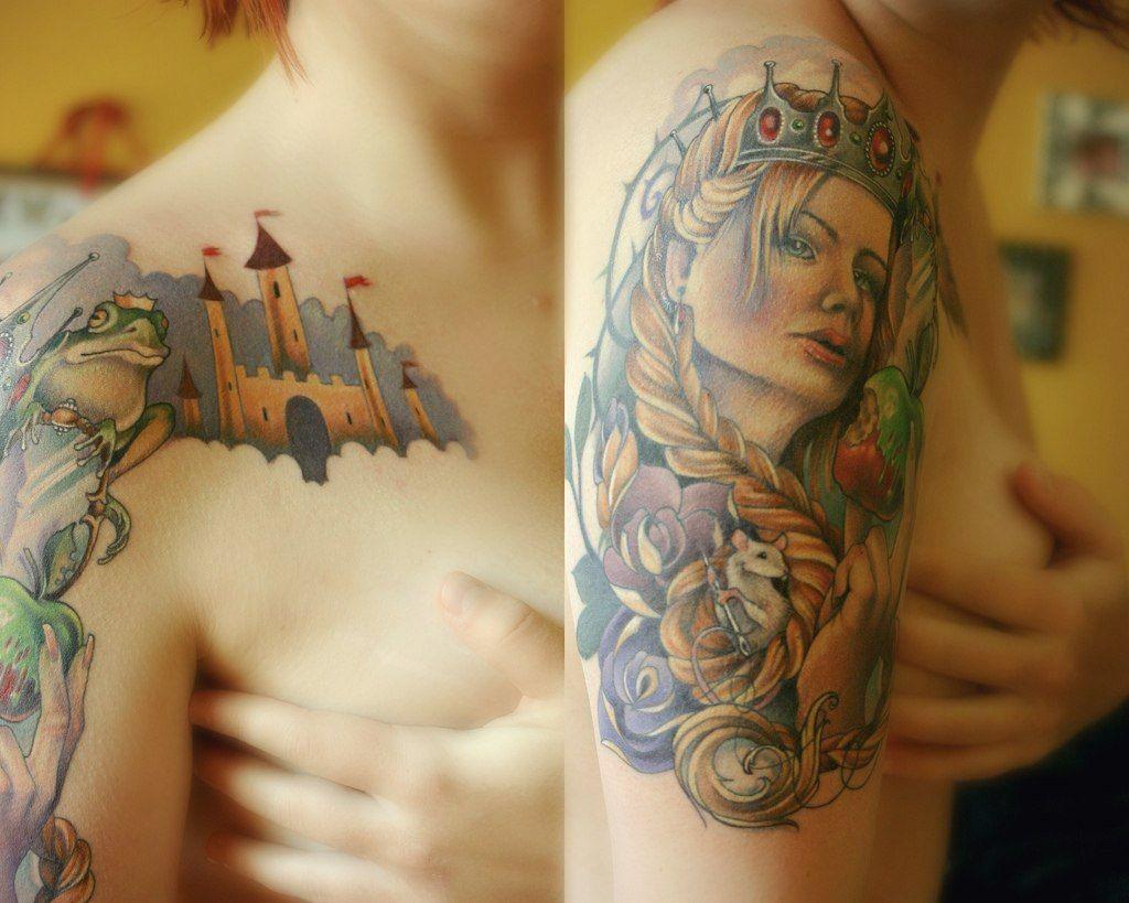 Каталог женских татуировок