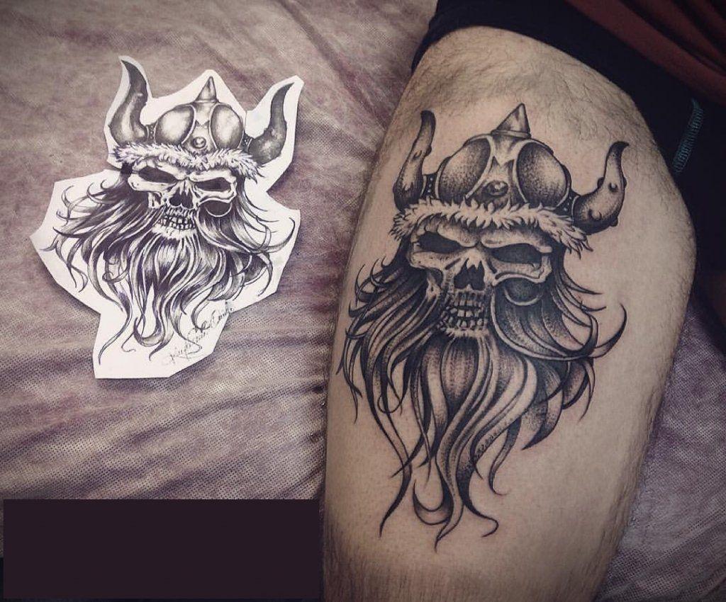 Фото каталог мужских татуировок 42