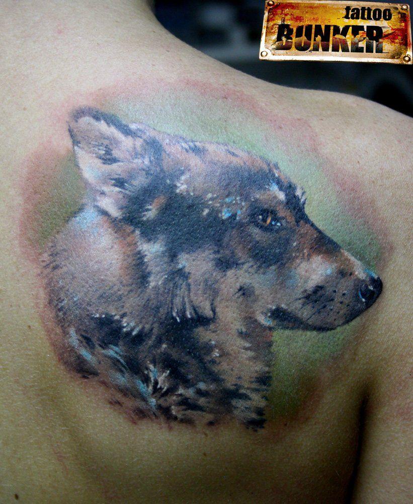 Татуировка пса 3