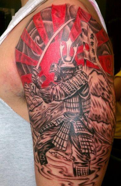 Татуировки воинов и самураев