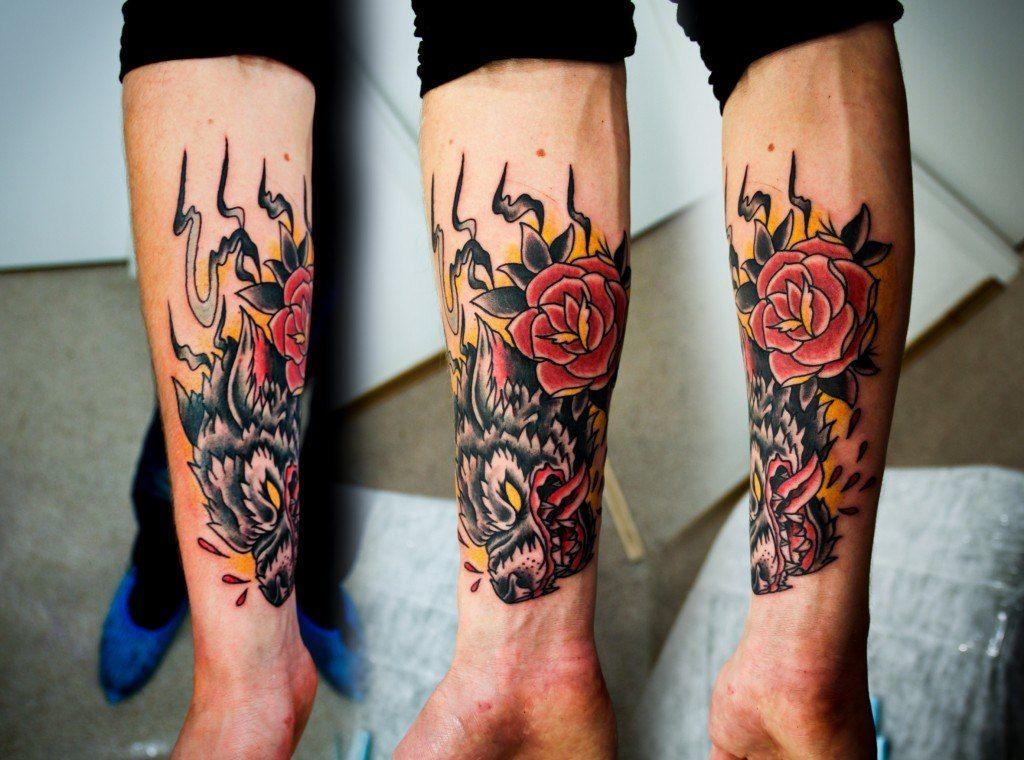 картинки тату эскизы на руку мужские