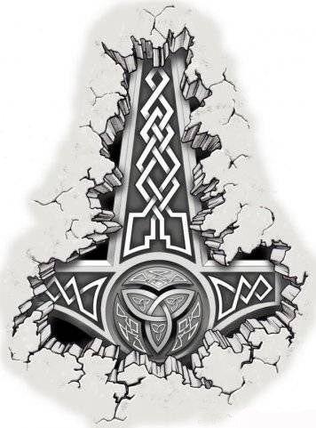 Славянские Татуировки | 39 оберегов славян | Значения рун ...