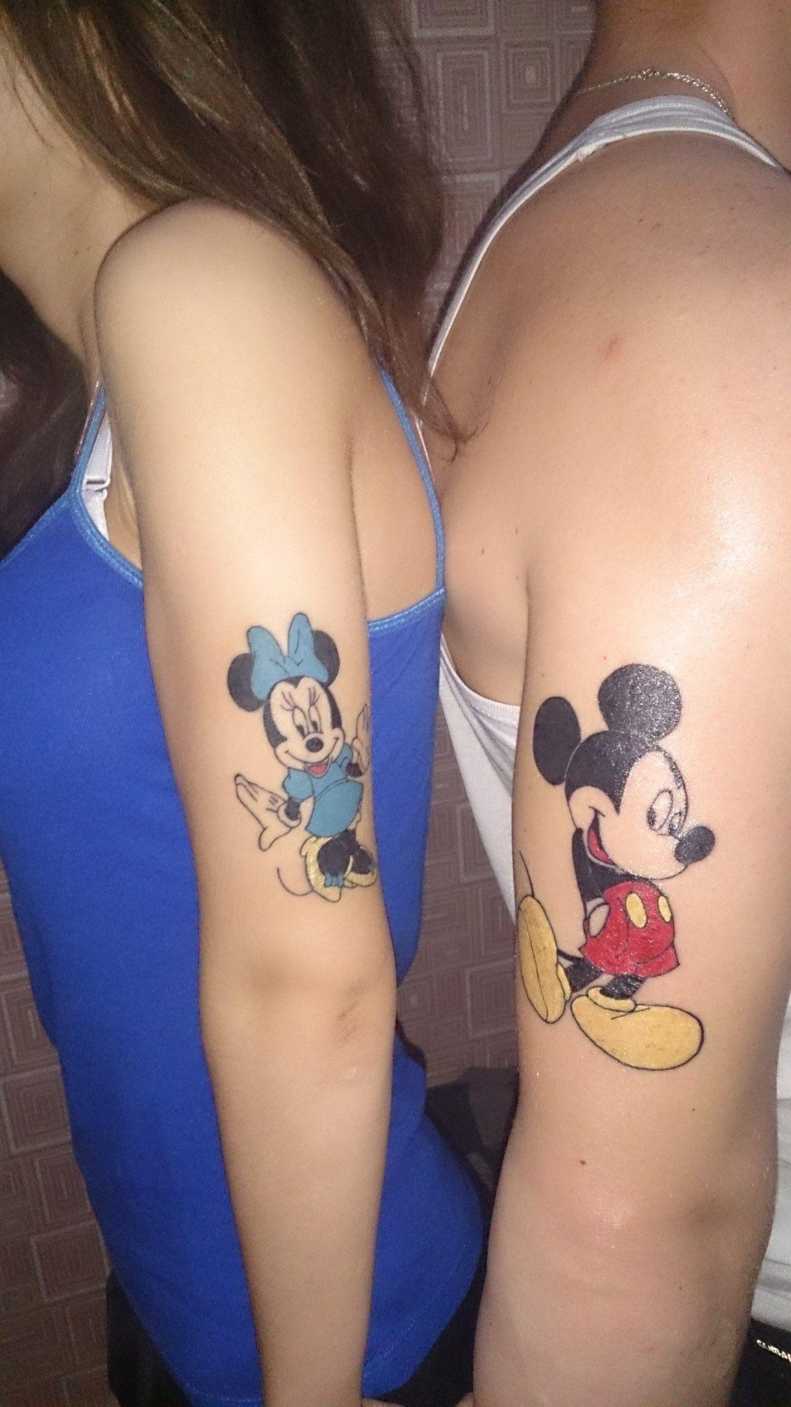 Фото с татуировками парные
