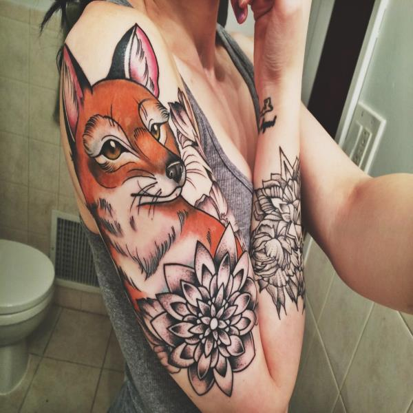 Значение татуировок «Лиса»