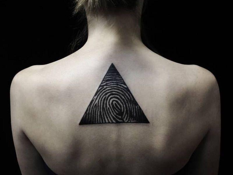 тату треугольник
