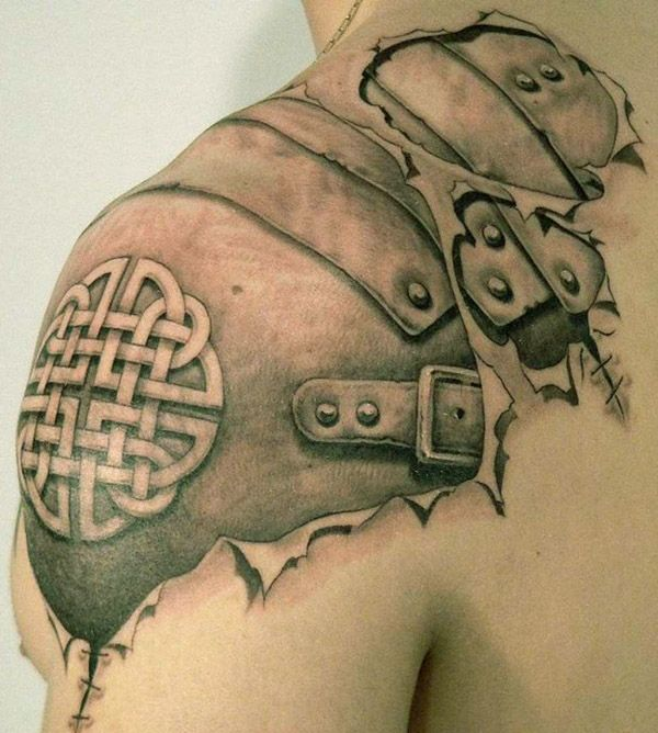 рисунки татуировок плечо