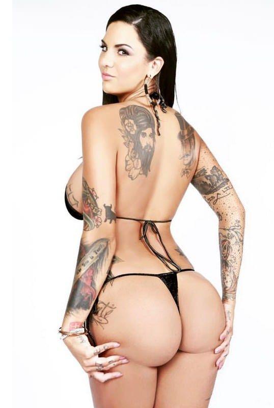 Топ 20 Татуированный Порнозвезд
