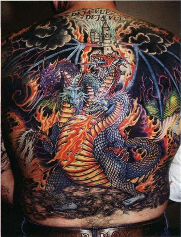 Фото и эскизы тату дракон, значение татуировки в салоне Тату-77