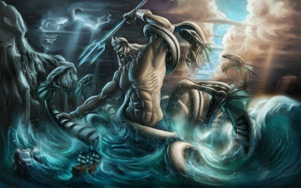 an overview of the poseidon deity Summary poseidon is a god in greek mythology as well as in roman mythology, where he is known as neptuneposeidon is the god of the sea, storms, earthquakes, and horses he is the son of kronos and brother to zeus and hades.