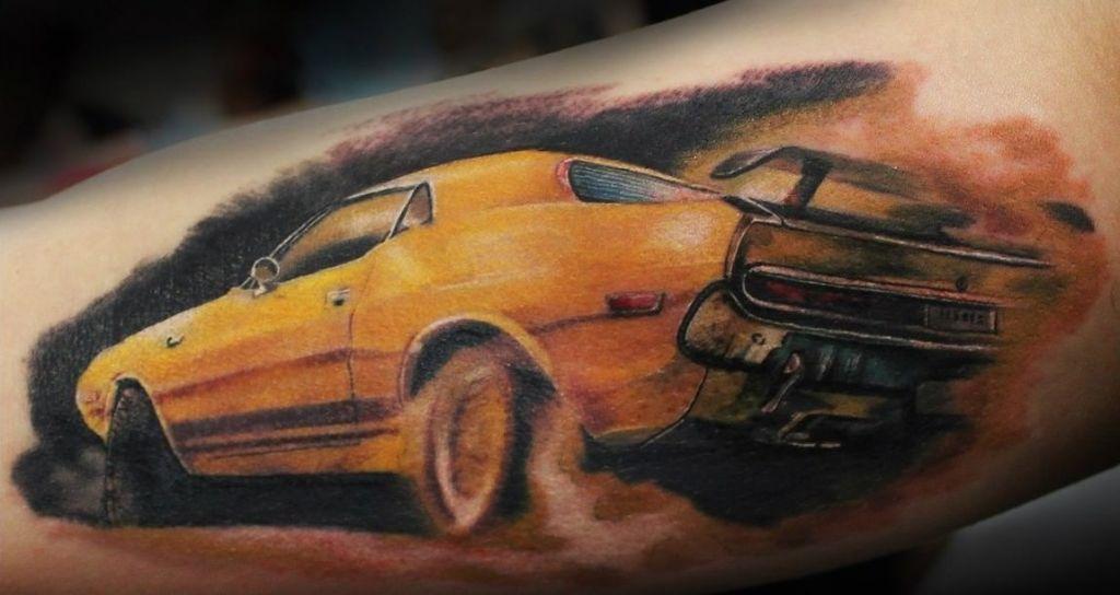 авто татуировка