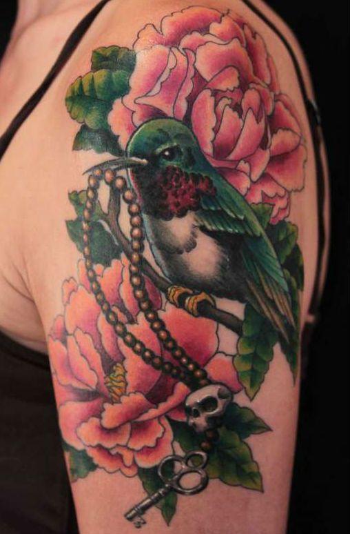 картинки тату птицы