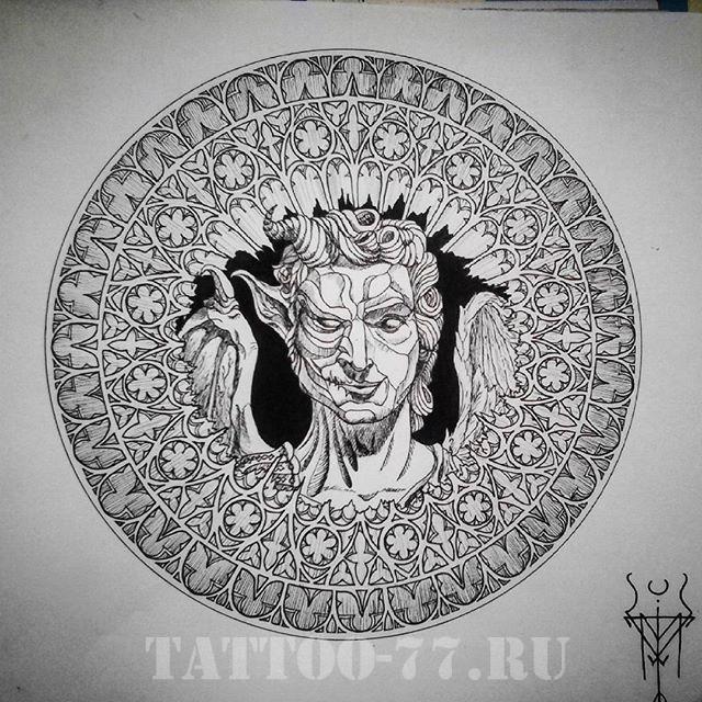 Что такое тату в стиле гравюры